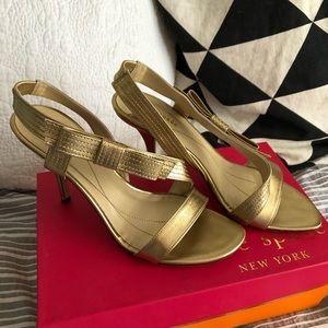Gold Kate Spade Sandals